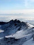 Kilimajaro Spitze, Afrika Lizenzfreies Stockbild