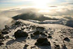Kilimajaro Szczyt, Afryka Obraz Stock