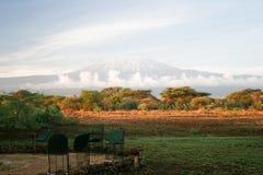 kilimangiaro εικόνας Στοκ Εικόνες