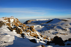kilimanjaro山 免版税库存图片