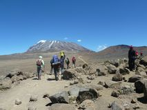 kilimanjaro Στοκ φωτογραφίες με δικαίωμα ελεύθερης χρήσης