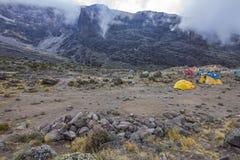 Kilimanjaro Barranco Camp Royalty Free Stock Image