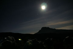 Kilimanjaro del campo Imagen de archivo
