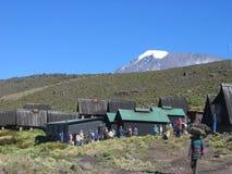 Kilimanjaro Homboro Hütte Lizenzfreie Stockbilder