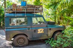 Kilimanjaro Safaris at Animal Kingdom at Walt Disney World. Orlando, Florida: December 1, 2017:  Kilimanjaro Safaris at Animal Kingdom at Walt Disney World.  The Stock Images