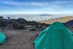 Kilimanjaro Shira Camp Royalty Free Stock Images