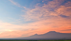 Kilimanjaro at Sunrise Royalty Free Stock Photography