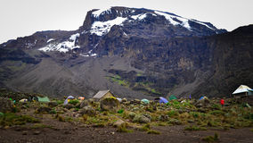 Kilimanjaro top view Stock Photos