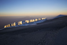 Kilimanjaro Uhuru Peak Stock Photos