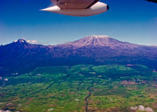 kilimanjaromontering Arkivbild