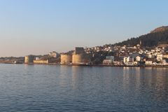Kilitbahir Castle. Caliphate in the Gallipoli peninsula in the Dardanelles royalty free stock photography