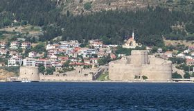 Kilitbahir Castle in Canakkale Royalty Free Stock Images