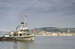 Nusret The Ottoman Minelayer Ship, Canakkale, Turkey  Stock Images