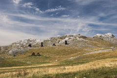 ` Kiljan de Niksin do ` de Ridge perto do lago Kapetanovo, Montenegro Fotografia de Stock Royalty Free