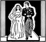 kilka apaszkę krystaliczna biżuteria zwiąż ślub Zdjęcie Stock