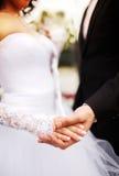 kilka apaszkę krystaliczna biżuteria zwiąż ślub Zdjęcie Royalty Free