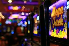 Kilka automat do gier w caino Zdjęcie Stock