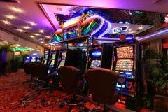 Kilka automat do gier w caino Fotografia Royalty Free