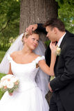 kilka całowanie poślubić miłości obrazy stock