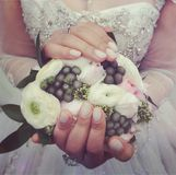 kilka dni ubranie szczęśliwy roczna ślub obraz stock