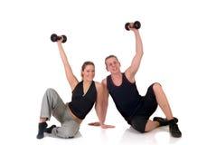 kilka fitness Zdjęcia Royalty Free