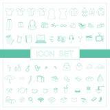 Kilka ikona dla projekt sieci, blog, zastosowanie Obrazy Royalty Free