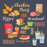 Kilka karmowy menu Fotografia Royalty Free