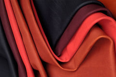 Kilka kolorowi skóry próbki modele Obrazy Stock
