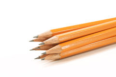 kilka ołówków, drewniane Fotografia Royalty Free