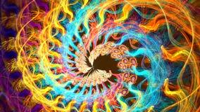 Kilka piękni fractals bez przeszkód przekształcać jeden w inny zbiory wideo