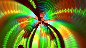 Kilka piękni fractals poścą transformata jeden w inny zbiory wideo