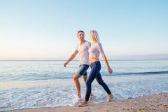 kilka plażowy kochać Zdjęcie Royalty Free