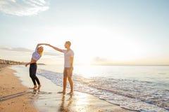 kilka plażowy kochać Zdjęcie Stock