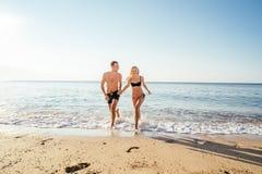 kilka plażowy kochać Obraz Stock