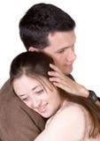 kilka przytulania Zdjęcie Royalty Free