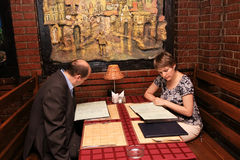 kilka restauracji obraz royalty free