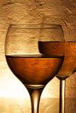 kilka szklanek wina Zdjęcie Royalty Free