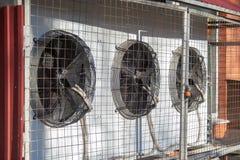 Kilka wietrzą conditioners zdjęcia royalty free