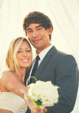 kilka zdjęć romantyczny ślub sesji Obrazy Stock