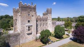 Kilkea kasztel Castledermot okręg administracyjny Kildare Irlandia obraz stock