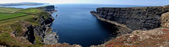 Kilkee Cliff Ireland. Beautiful view of Kilkee Cliff Ireland Stock Photos