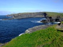 Kilkee faleza Irelands Fotografia Royalty Free