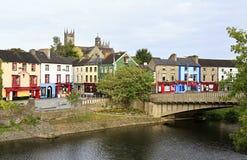 Kilkenny στον ποταμό Nore Στοκ Εικόνες