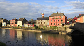 Kilkenny στον ποταμό Nore Στοκ Φωτογραφία