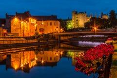 Kilkenny τη νύχτα Στοκ Φωτογραφίες