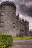 Kilkenny Castle. HDR Photo of Kilkenny castle on an overcast day. Ireland Stock Photography
