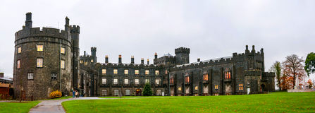 Kilkenny Castle during the day in Ireland Royalty Free Stock Images