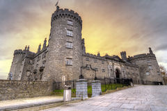 Kilkenny Castle at dusk. Co. Kilkenny, Ireland Royalty Free Stock Image
