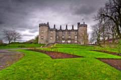 Kilkenny Castle and gardens Stock Images