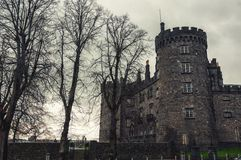 Kilkenny Castle and gardens in autumn - Ireland Stock Images